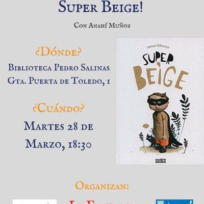 Super-Beige en la Biblioteca Pedro Salinas de Madrid